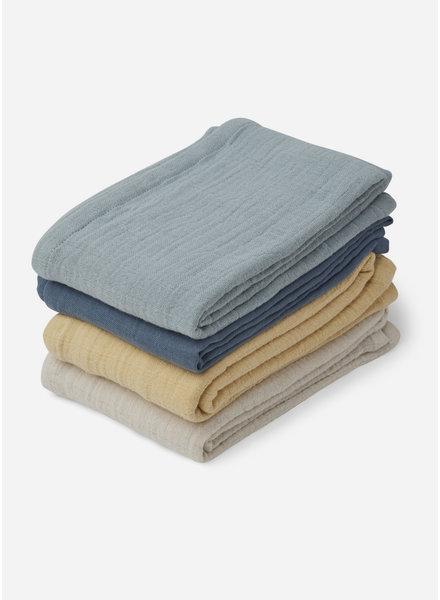 Liewood leon muslin cloth blue mix