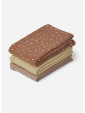 Liewood line muslin cloth confetti terracotta mix