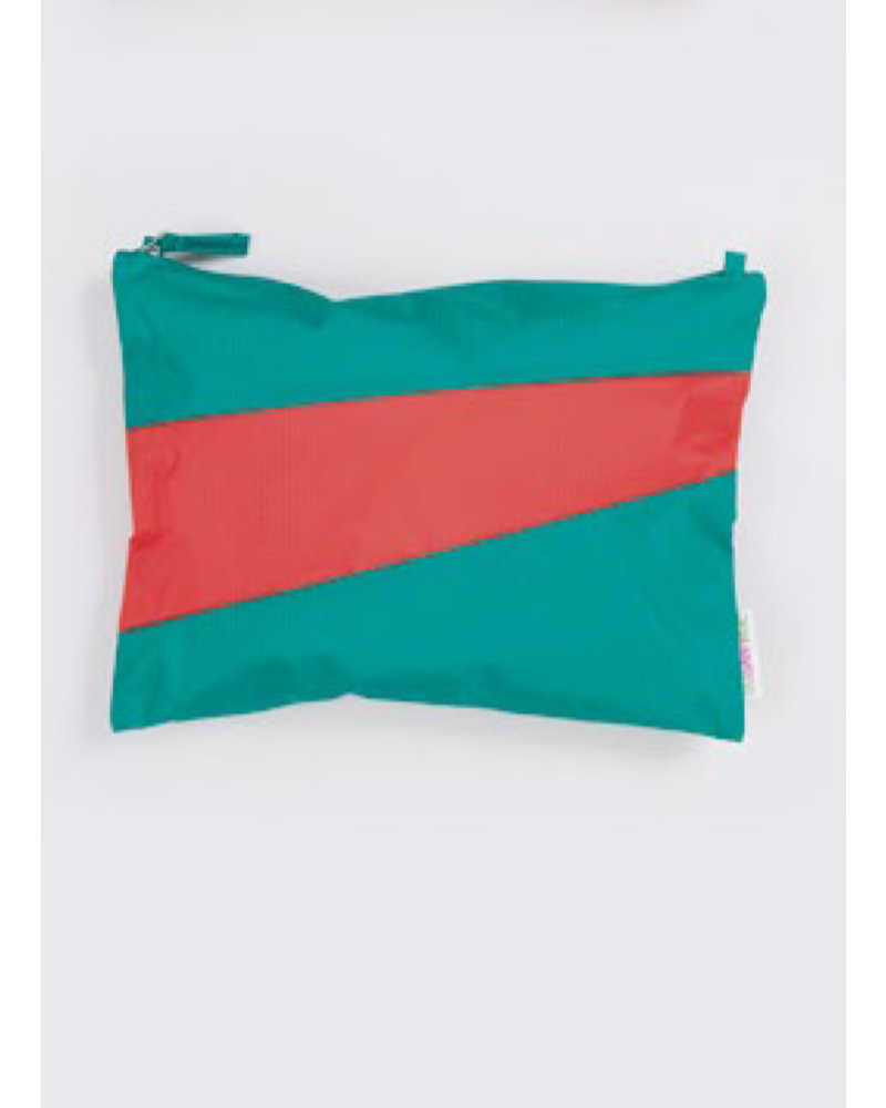 Susan Bijl recollection pouch seaweed - red alert