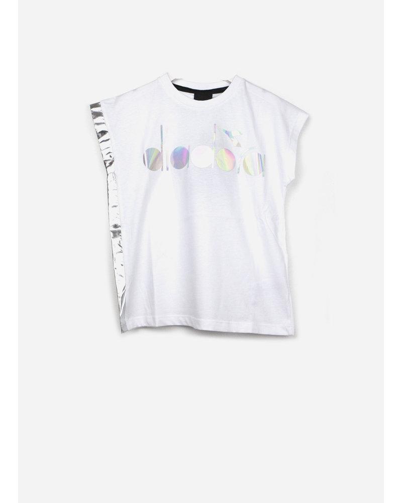 Diadora maglia jersey e nylon r.zza - white
