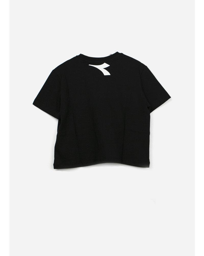 Diadora jersey ls tshirt girl - black