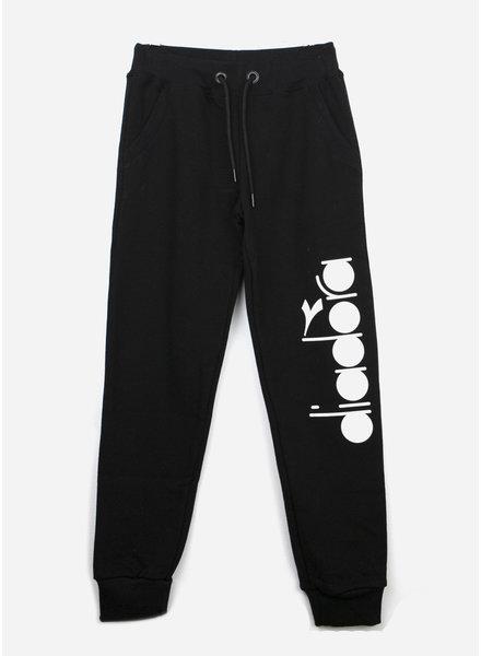 Diadora sweat pants boys - black