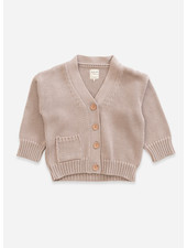 Play Up knitted jacket - jute
