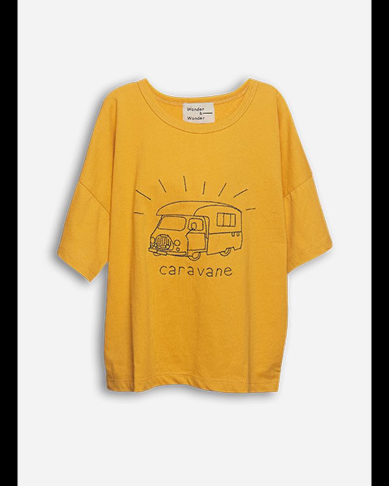 Wander & Wonder caravane tee honey