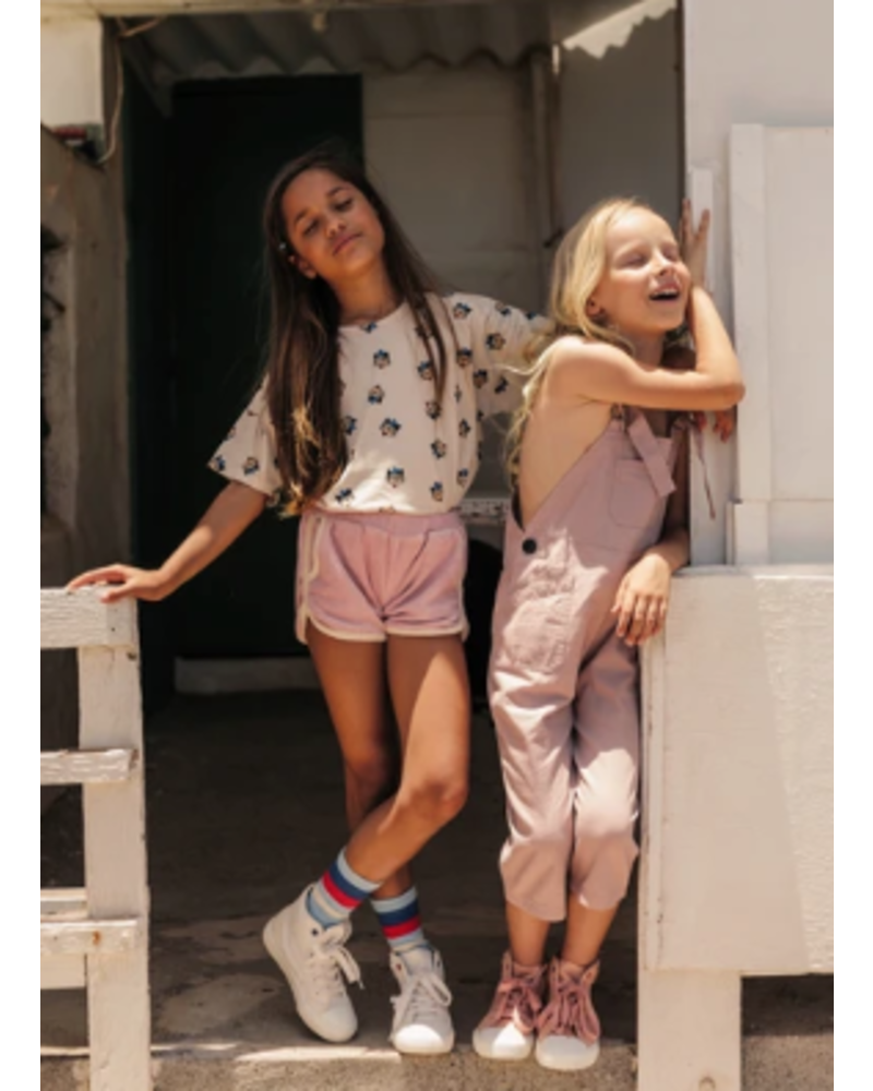 Wander & Wonder terry shorts pink