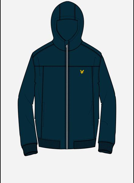 Lyle & Scott soft shell jacket navy blazer