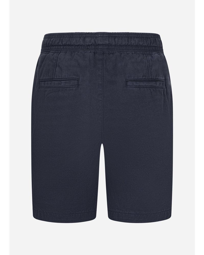 Lyle & Scott elasticated waistband short navy blazer