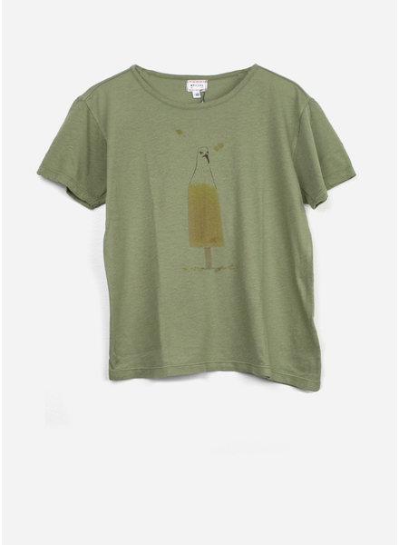 Morley flip gullprint che tshirt