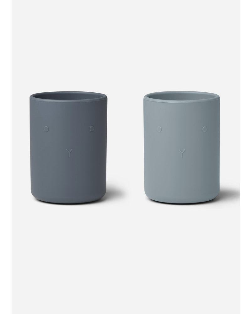 Liewood ethan cup 2pack blue mix