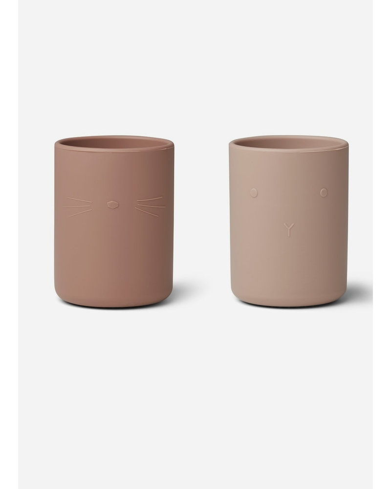 Liewood ethan cup 2pack rose mix