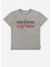 Zadig & Voltaire tee shirt manches gris chine