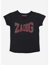 Zadig & Voltaire tee shirt manches carbon