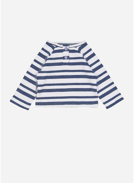 Buho jan stripes sweater - indigo