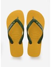 Havaianas flip flop brasil logo banana yellow