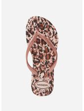 Havaianas flip flop slim animals ballet rose
