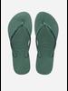 Havaianas flip flop slim velvet green leaf