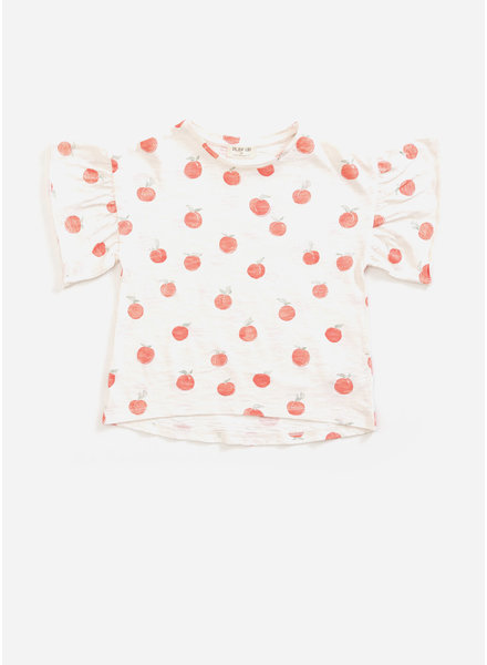 Play Up flame jersey tshirt - pearl