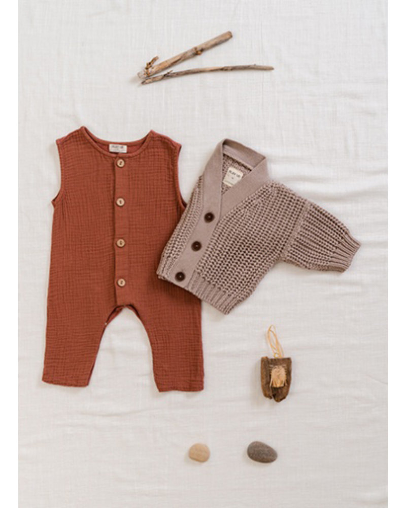 Play Up mixed jumpsuit - old tile