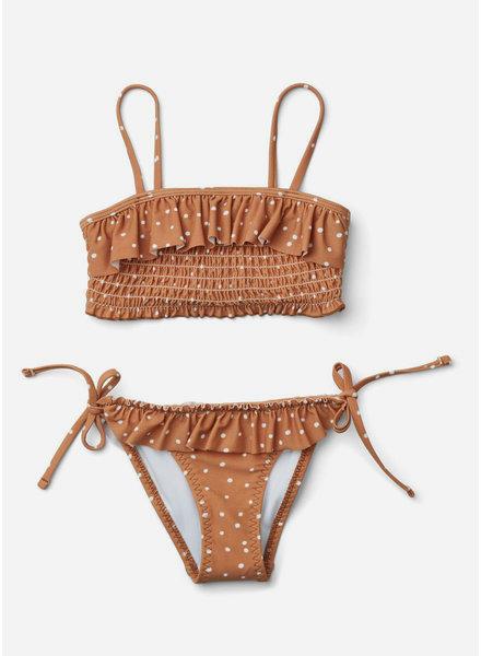 Liewood riley bikiniset confetti terracotta