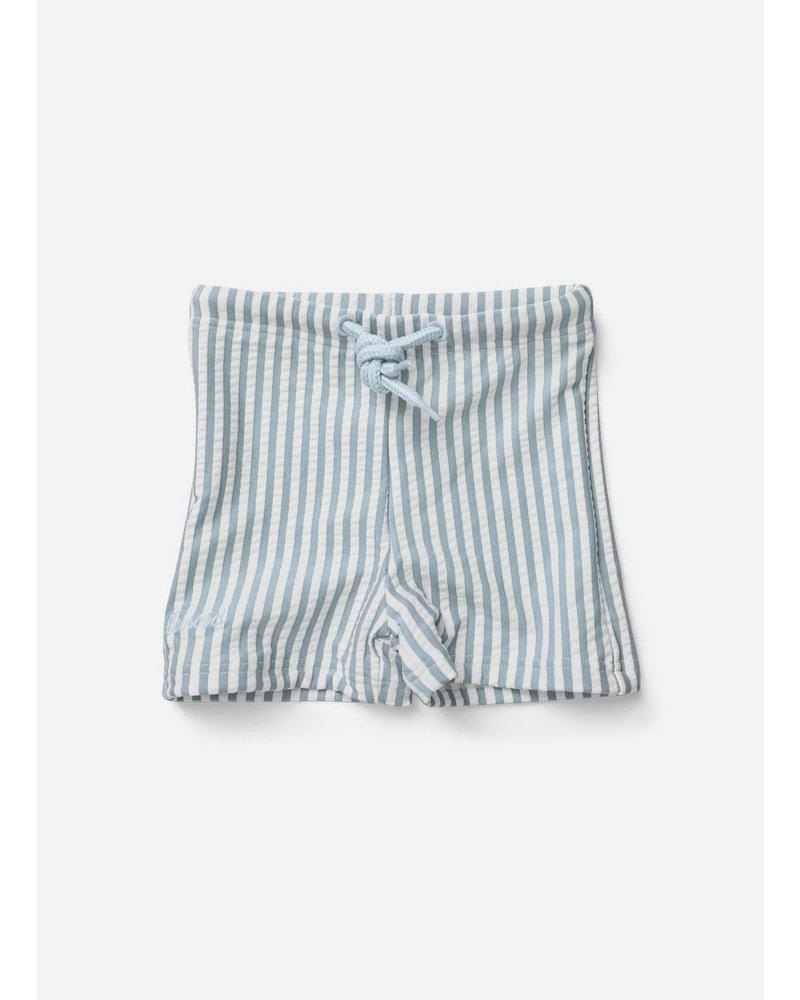 Liewood otto swim pants sea blue/white