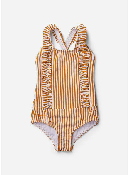 Liewood moa swimsuit mustard white