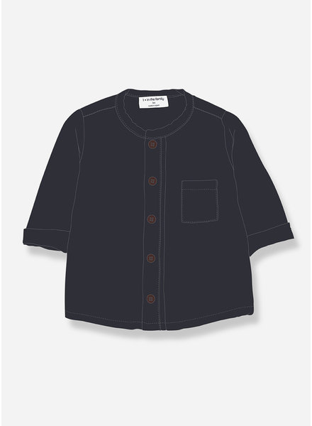 1+ In The Family custo shirt bluenotte
