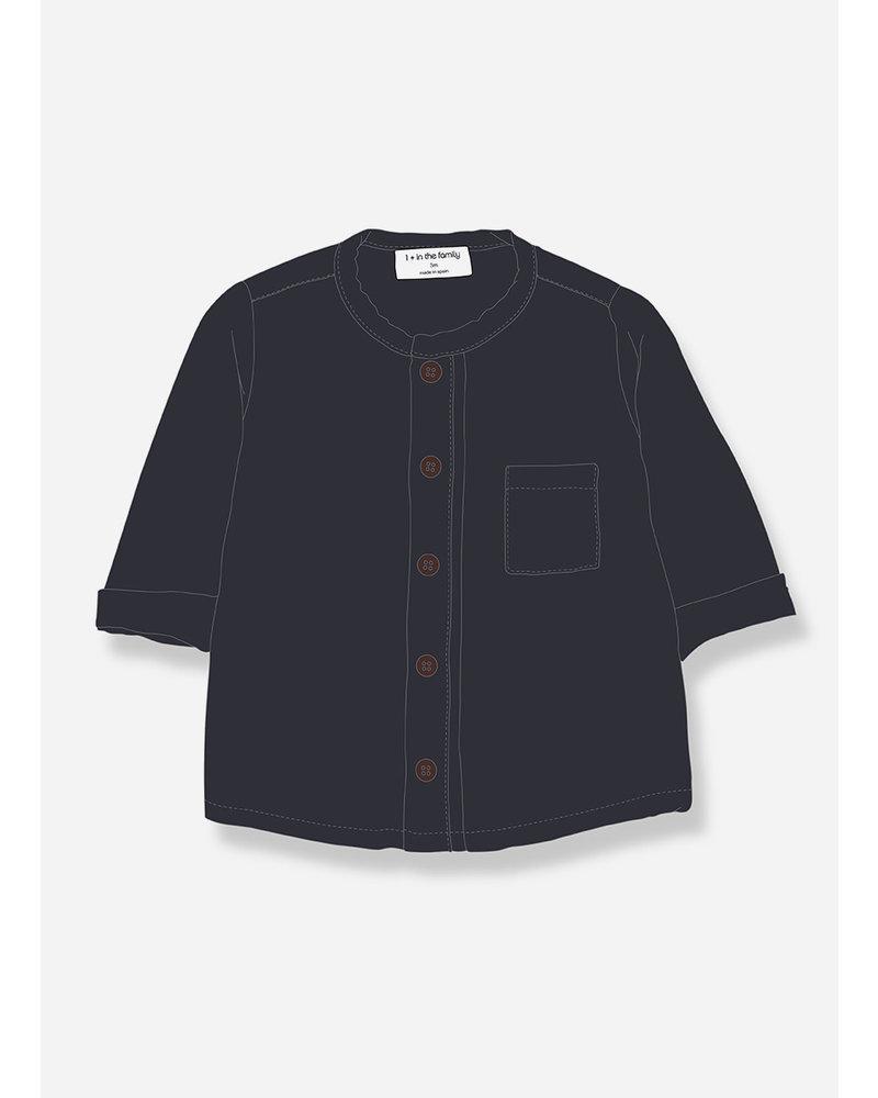 1+ In The Family custo shirt bluenotte