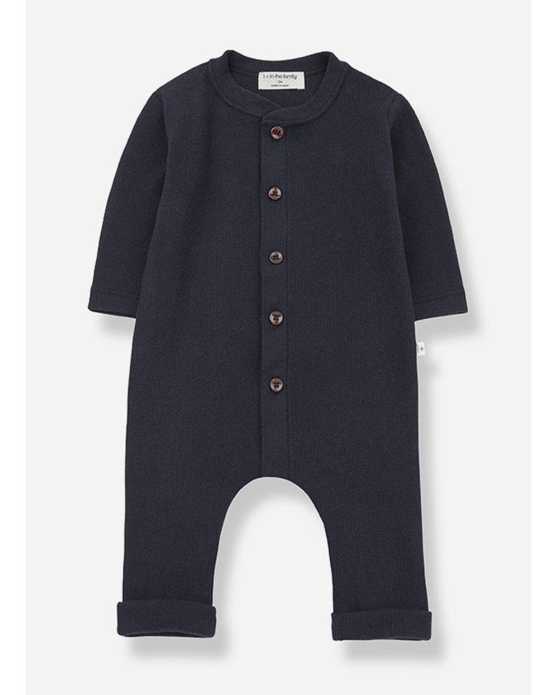 1+ In The Family lomond jumpsuit bluenotte