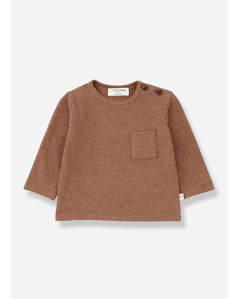 1+ In The Family aneto t-shirt toffee