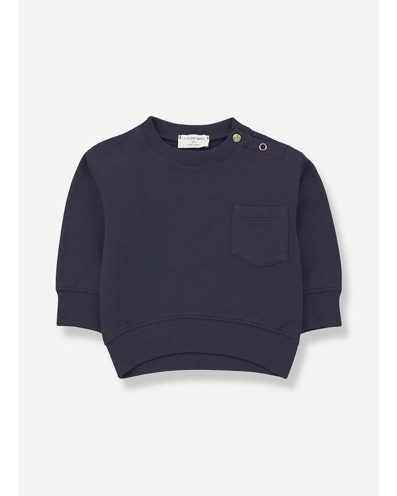 1+ In The Family salardu sweatshirt bluenotte