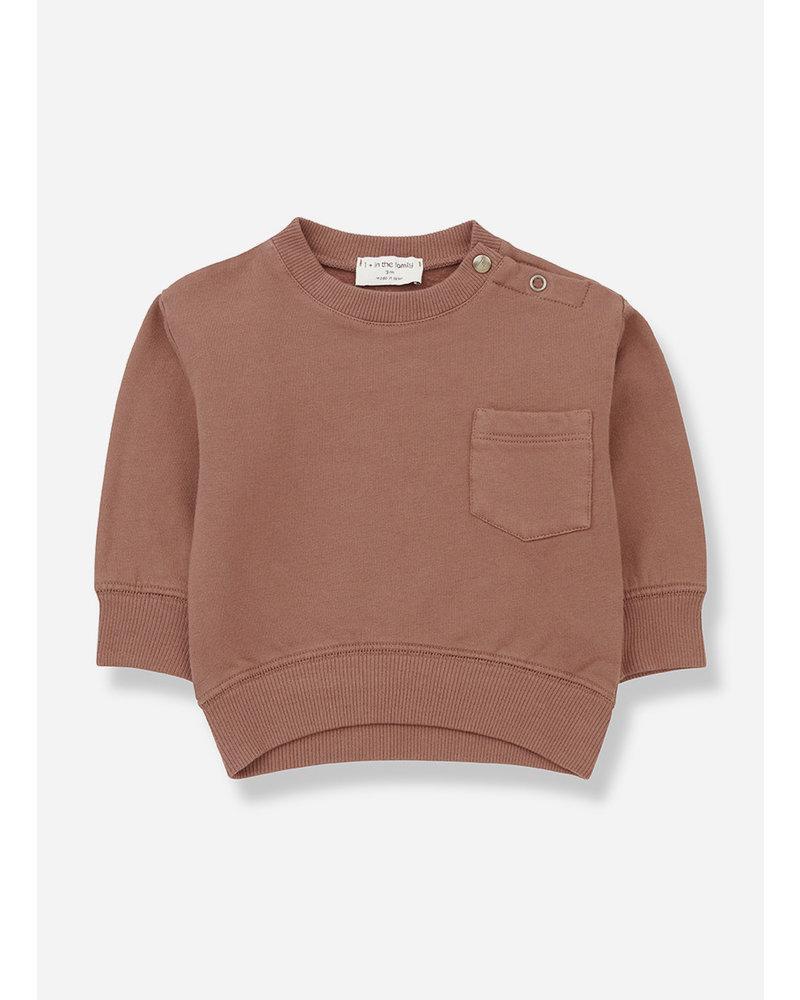 1+ In The Family salardu sweatshirt toffee