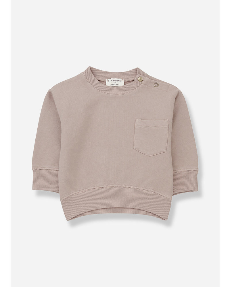 1+ In The Family salardu sweatshirt rose