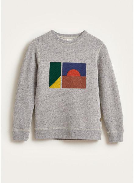 Bellerose vixx sweatshirt heater grey