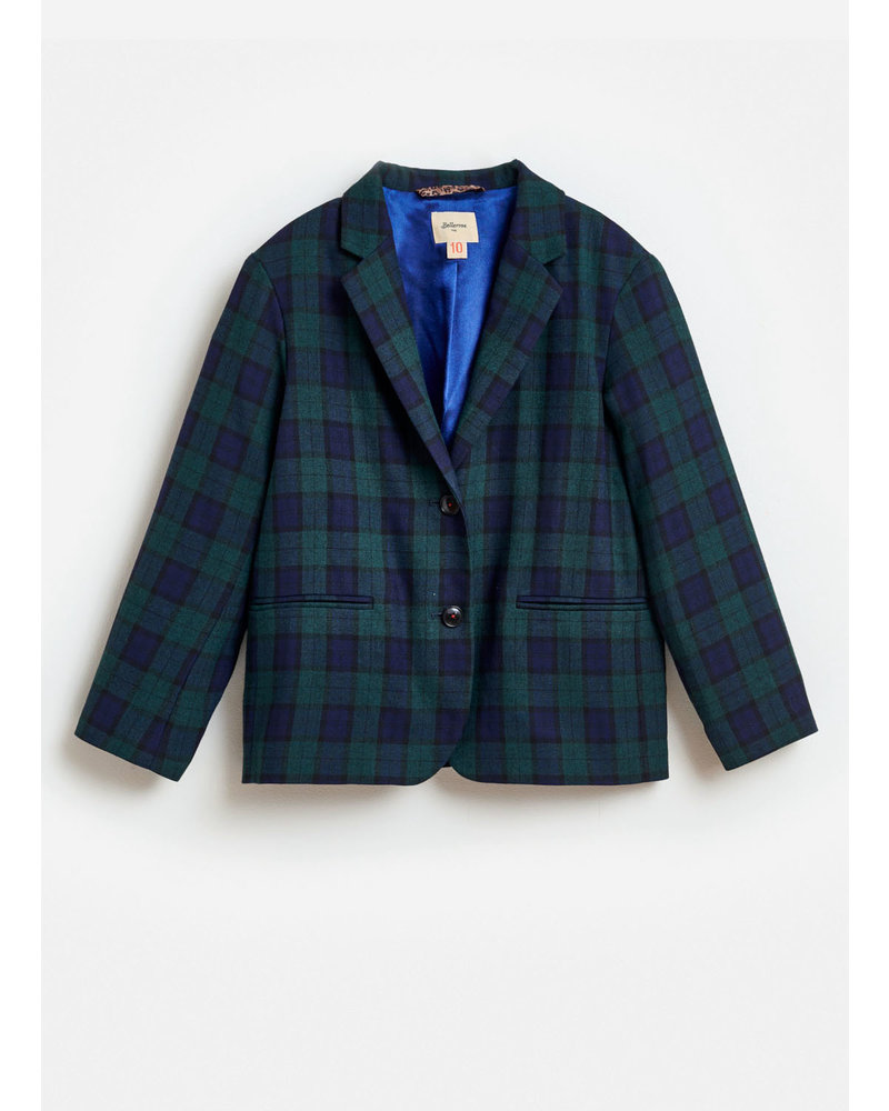 Bellerose chick blazer check A