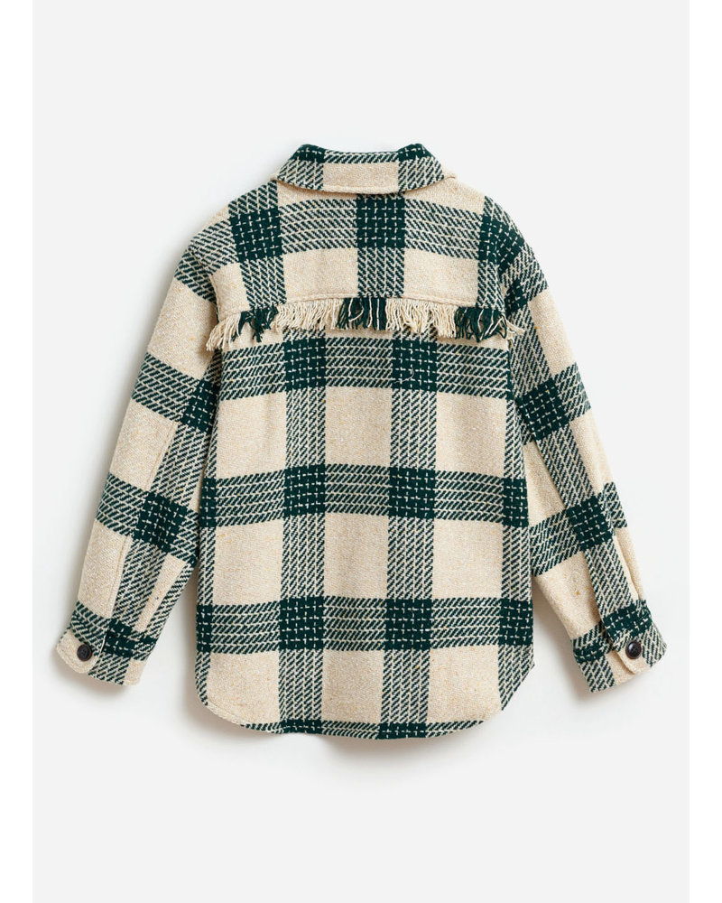 Bellerose ariel overshirt check A