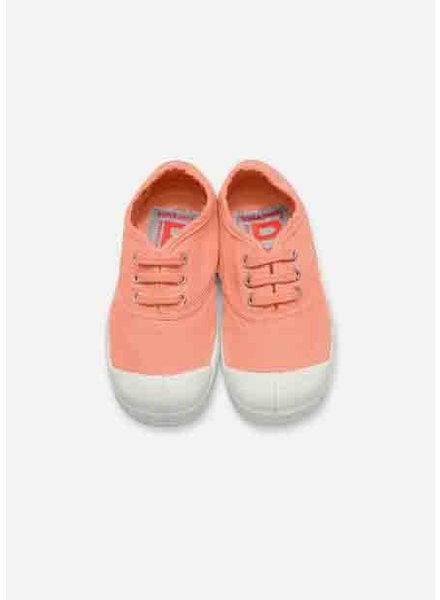 Bensimon kid lace tennis pink