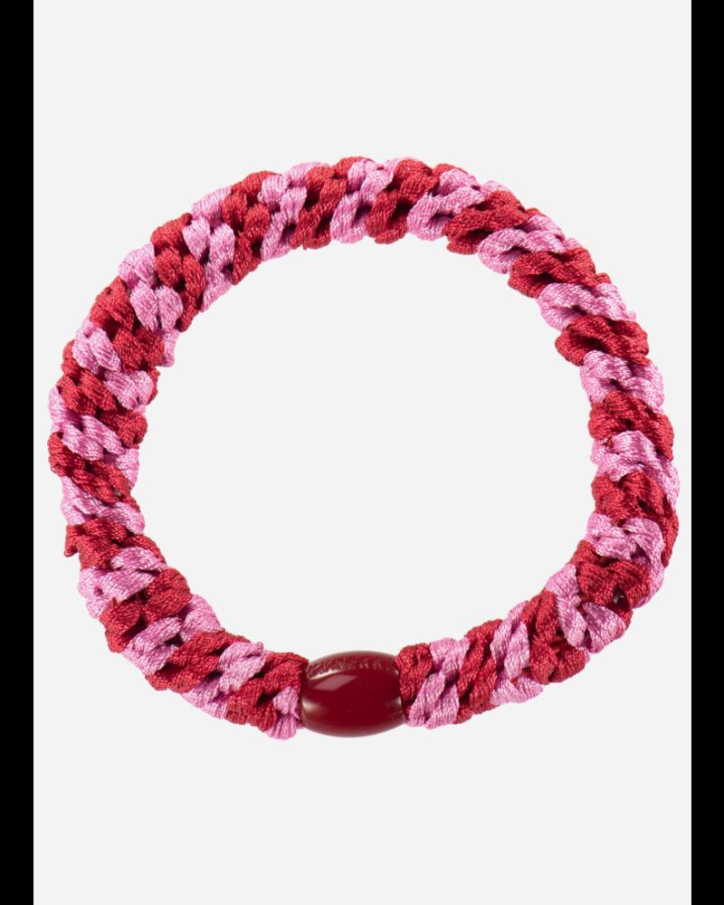 Bon Dep *kknekki red bubblegum stripe