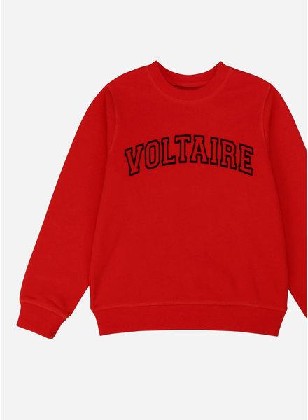 Zadig & Voltaire sweater fel rood
