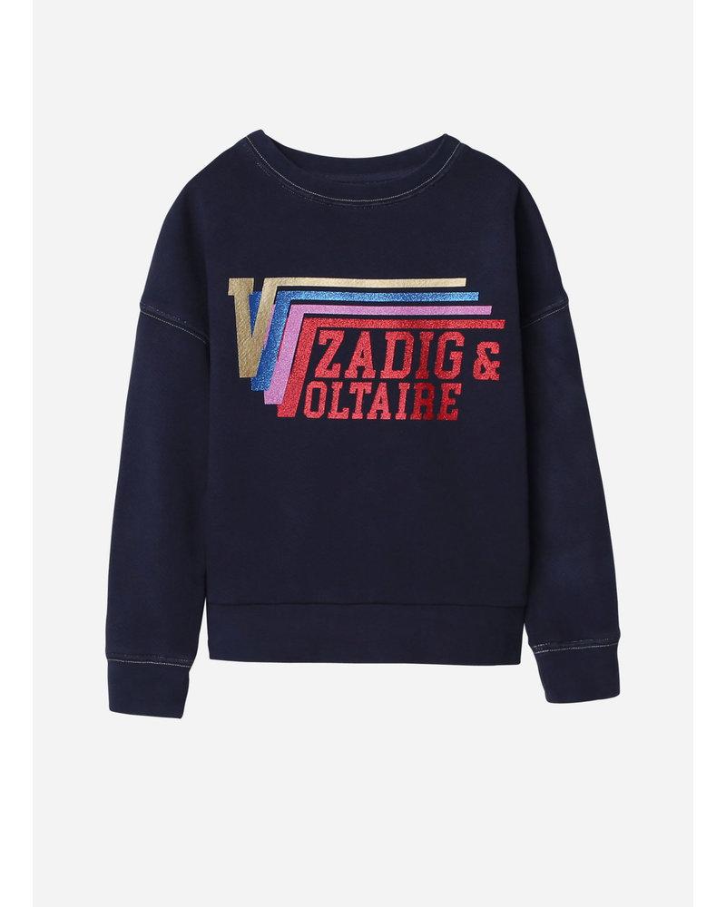 Zadig & Voltaire sweat marine