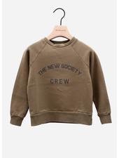 The New Society crew sweater kakhi