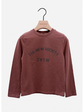 The New Society crew tee rose taupe