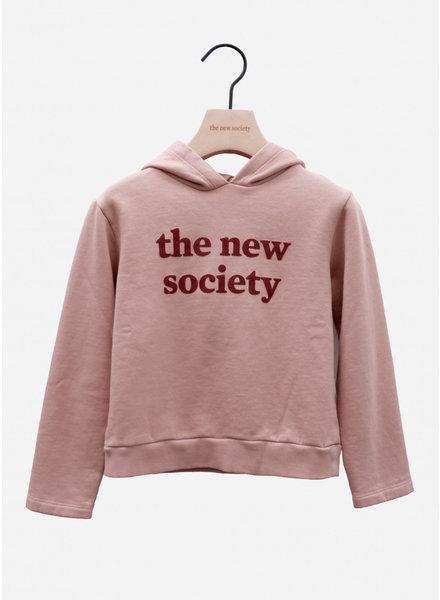 The New Society flock sweater blush