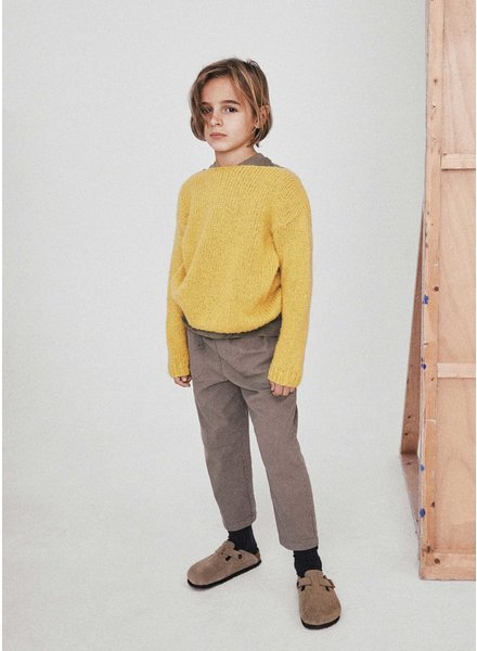 The New Society irene jumper yellow