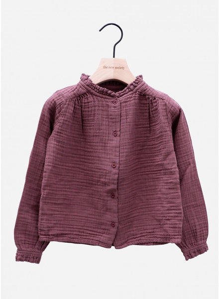 The New Society lua blouse rose taupe