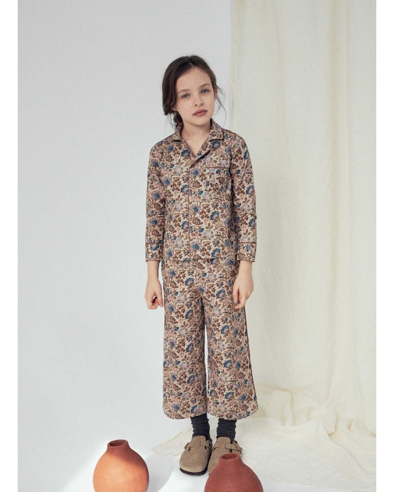 The New Society luisa pijama shirt vinitage flower