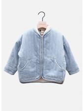 The New Society mica jacket denim