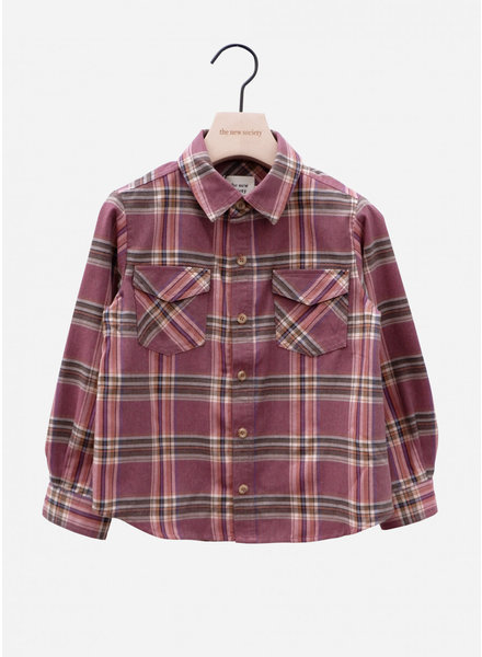 The New Society milosh shirt rose taupe