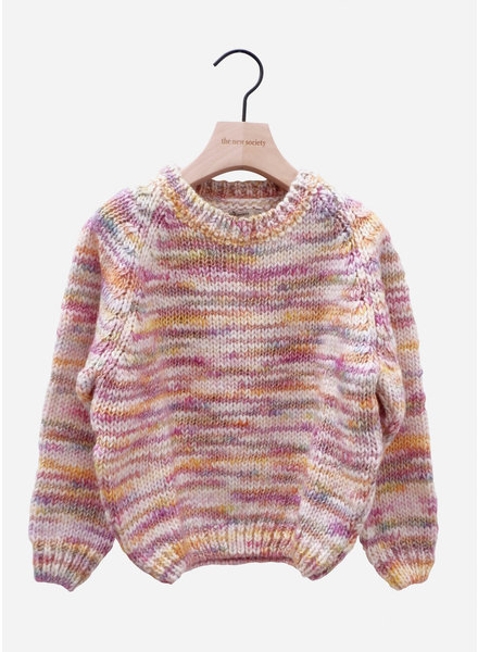 The New Society sadi sweater multicolor