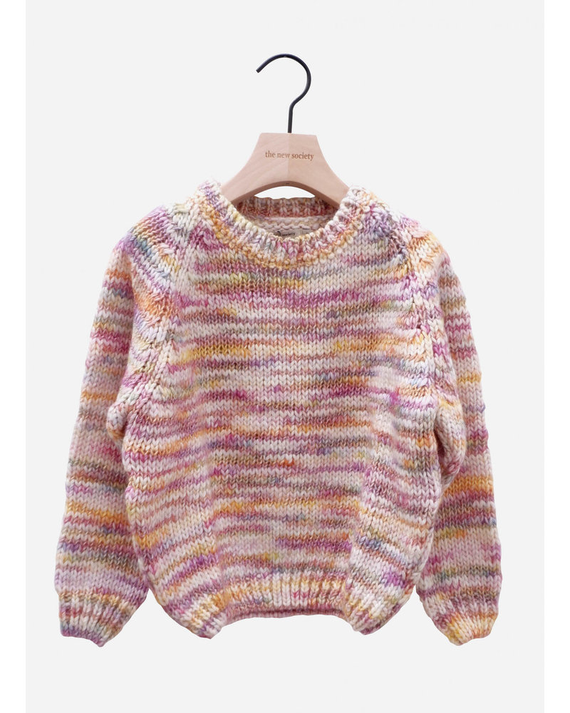 The New Society sadi sweater multicolor