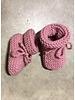 Oma Netty slofjes merino wol antique pink